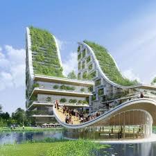 Crazy Conceptual Design For Biomimetic Eco Village In Belgium