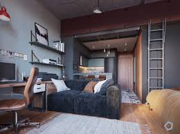 how to make the most of a studio apartment chic small studio apartment which use space splendidly to make it