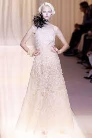 Armani Wedding Dresses Runway Report Brides Of Haute Couture A W 2013 Nick Verreos