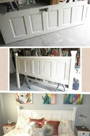 ideas fascinating homemade headboards for full size beds charming easy to make homemade headboards from old door to diy fabric headboards pinterest