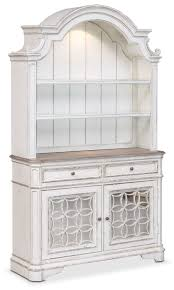 dining room furniture marcelle buffet and hutch vintage white