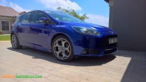2014 ford focus st blue 2014 ford focus st used car for sale in standerton mpumalanga