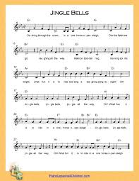 jingle bells lyrics free sheet for piano