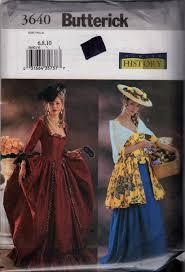 butterick halloween costumes butterick 3640 misses historical costume pattern renaissance