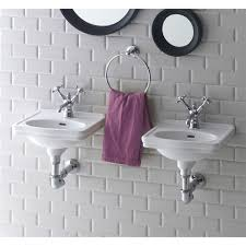 Wall Mount Bath Sink Bissonnet Lo944 Evo Londra Wall Mounted Bathroom Sink Homeclick Com