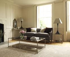 smoked glass coffee tables uk the madison coffee table in florentine gold finish and bronze smoked