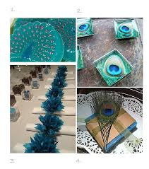 peacock wedding favors wedding favor ideas