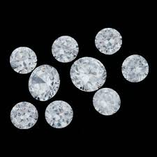 clear gemstones clear cubic zirconia gemstones