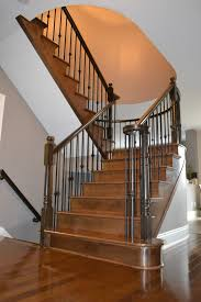 Hardwood Floor Stairs Stairs And Railings U2013 Hardwood Flooring And Staircase Recapping In