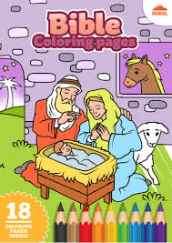 bible coloring pages u2013 free printable coloring book for kids