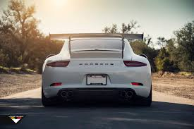 porsche carrera back porsche 991 carrera narrow body v gt aero carbon fiber rear