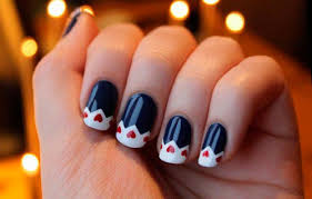 lovely valentine u0027s day nail art ideas beauty tips hair care