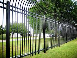 metal fence options installation in the atlanta area chamblee