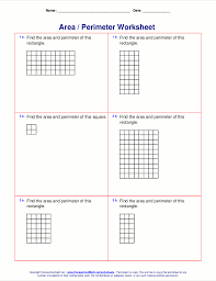 Fractions Decimals And Percents Worksheets 6th Grade Area And Perimeter Worksheets Rectangles And Squares