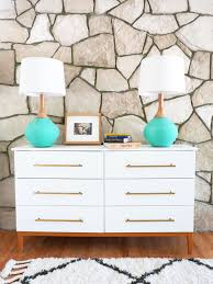 Ikea Restyle Modern Hollywood Regency by Mid Century Modern Dresser Diy Mid Century Modern Dresser