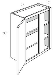 what is a blind corner kitchen cabinet wbc2730 wall blind corner cabinet amesbury brown rta
