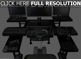 ergonomic desk setup with two monitors muallimce
