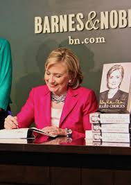 Barnes And Noble Union Square Nyc 5 Revelations From Hillary Clinton U0027s New Memoir Hard Choices