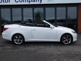 lexus is250 convertible uk 2012 12 lexus is250 limited edition convertible auto 1 owner flsh