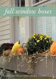 Outdoor Decorations For Fall - outdoor decorating for fall curb appeal gourds and window