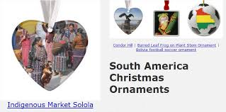 south america ornaments south america gifts