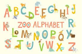 printable alphabet stencils free printable alphabet zoo printable alphabet with animals free