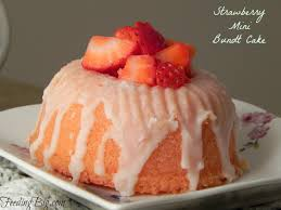 strawberry mini bundt cakes are fresh and sweet perfect dessert