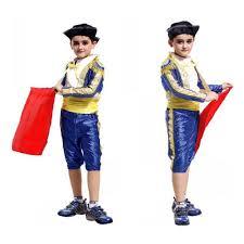 Halloween Costumes Kids Boy Aliexpress Buy Children U0027s Spanish Matador Masquerade Cosplay