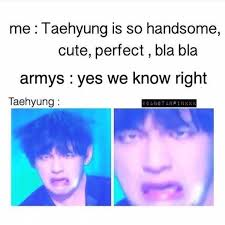 So Cute Meme Face - taehyung is perfect even with his meme face bts ruins mah life