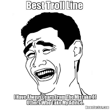 Troll Meme Images - best troll line create your own meme