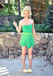 Halloween Costumes Tinkerbell 25 Tinker Bell Costume Ideas Diy Tinkerbell