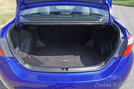 trunk space toyota corolla 2015 toyota corolla sport reliving the awesomeness