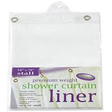 Carnation Home Cleaning Carnation Home Fashions Stall Size Extra Heavy Vinyl Shower