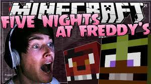 Dantdm Maps Five Nights At Freddy U0027s Insane Jumpscares Minecraft Youtube