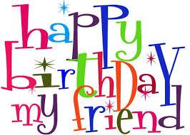 birthday clipart for friend clipartxtras