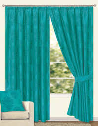 Curtains 46 Inches Fully Lined Teal Curtains All Sizes 46 66 90 Width X 54 72 90 108
