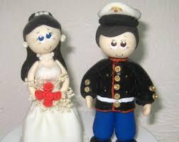 marine cake topper custom wedding cake topper wedding cake topper