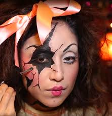 35 easy halloween makeup ideas u0026 tutorials 2017 cool halloween