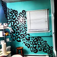 animal print bathroom ideas gorgeous diy cheetah print walls and best 25 leopard print