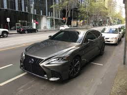 2018 lexus ls has a 2018 lexus ls caught while filming commercial in melbourne
