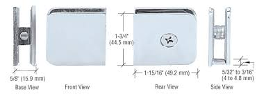 Shower Door Hinges Frameless Glass Shower Hardware Drexler Shower Door Atlanta Ga