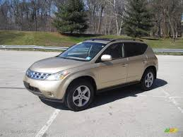 gold nissan car 2003 luminous gold metallic nissan murano sl awd 62159163