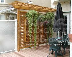 Backyard Privacy Screens by 18 Best Deck Ideas Images On Pinterest Privacy Fences Backyard