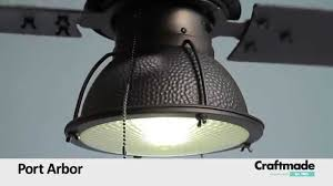 Craftmade Lighting Craftmade Port Arbor Ceiling Fan Collection Youtube