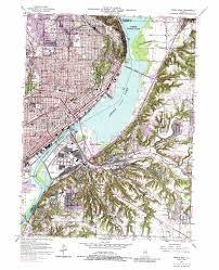 Champaign Illinois Map by Peoria East Topographic Map Il Usgs Topo Quad 40089f5