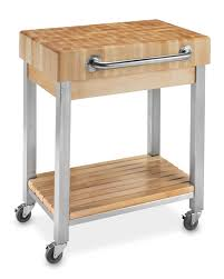 kitchen island cart butcher block boos end grain butcher block kitchen cart williams