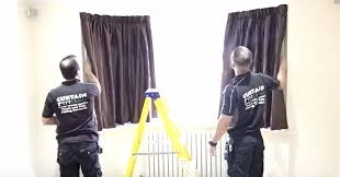 silent gliss bay window 3000 curtain installation service ever wondered what it takes to fit a bay window corded curain track well here is how we do at fitt erind 4x bend silent gliss 3000 in walton on thames