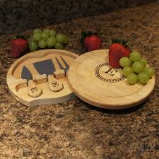 personalized cheese cutting board by the dozen brie personalized cheese board tool sets including