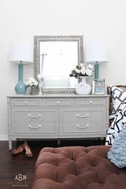 How To Paint A Bookcase White by Simple Chalk Furniture Paint Dresser Tutorial With Just A Few