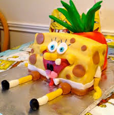spongebob squarepants cake nailed it spongebob edition fresh healthy eats